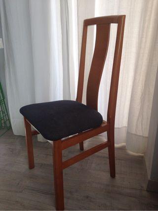 sillas comedor 4 unid de segunda mano por 25 en On sillas comedor wallapop