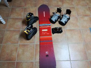 conjunto snowboard
