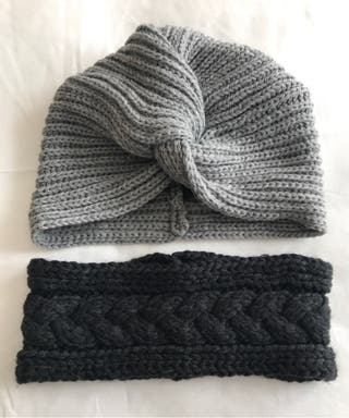 Pack de turbante y cinta