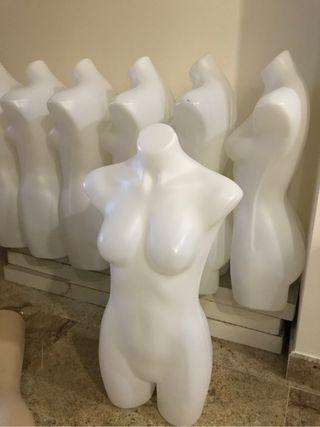 Busto mujer de pvc