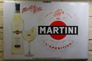 placa MARTINI 60x45cm