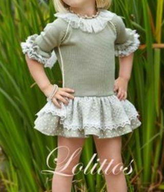 Vestido talla 6 Lolittos