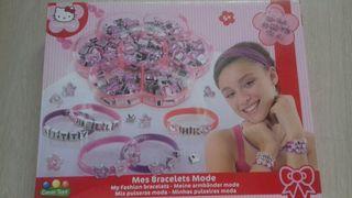 Juego Mis pulseras de moda Hello Kitty nuevo