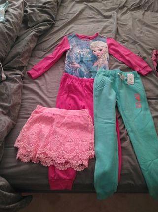 lote ropa niña tallas 5 6 7 con etiquetas