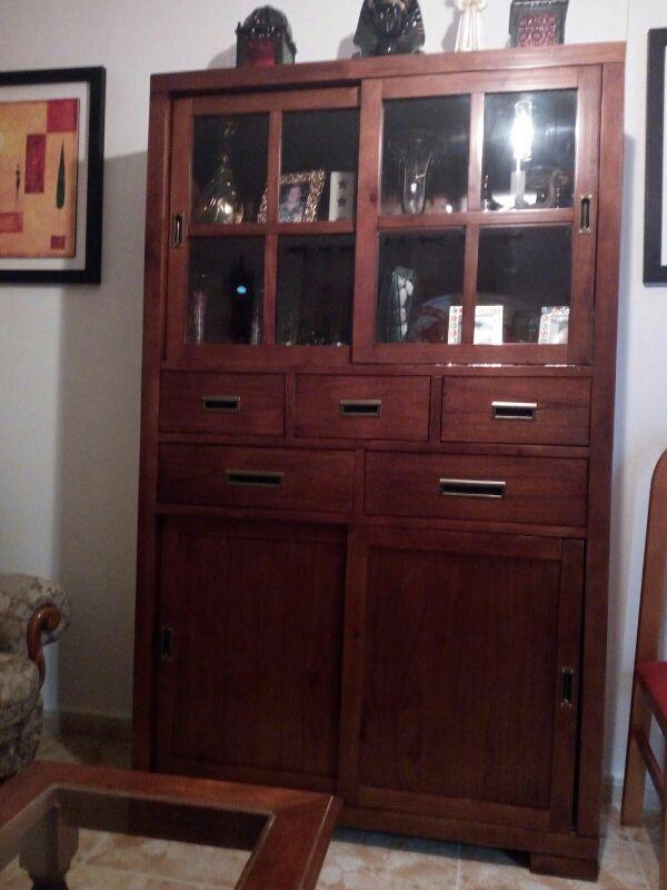 mueble vitrina nuevo
