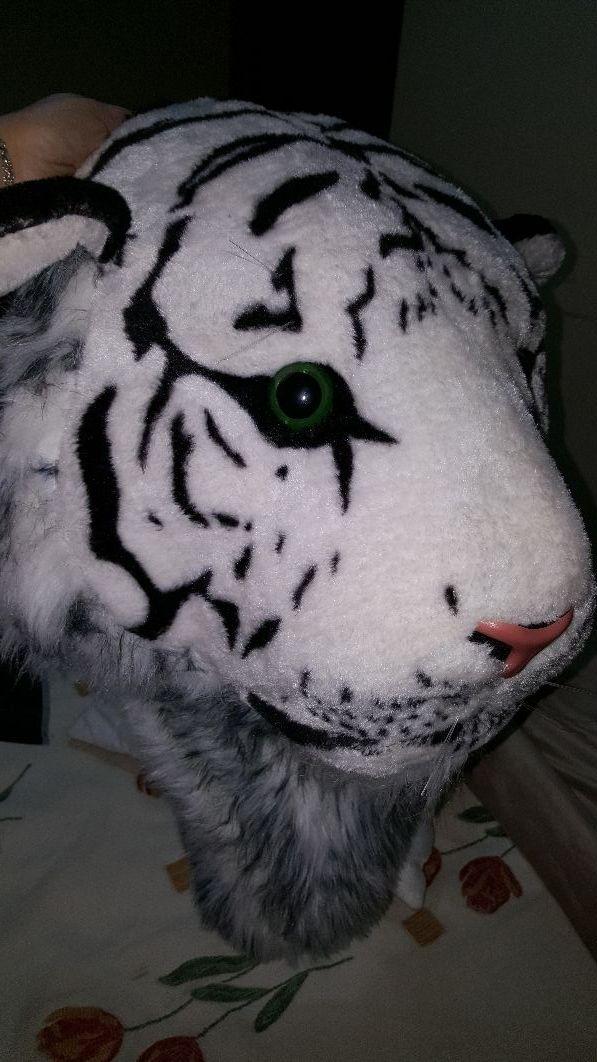Mochila cabeza de tigre