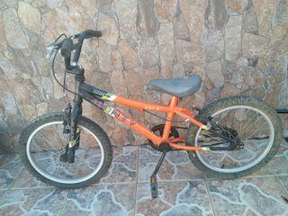 Bicicleta infantil Monty talla 104