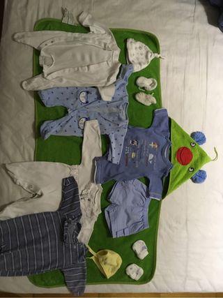 Lote ropa bebe 0-2 mes