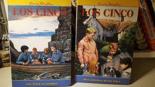 2 Libros de Los cinco