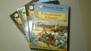 Libros de Geronimo Stilton.