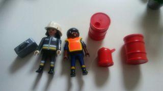 playmobil. bombera y mas