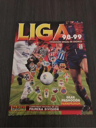 Álbum cromos Liga 98-99