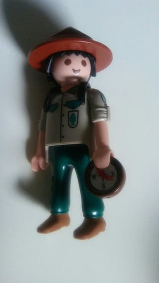 playmobil. explorador