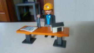 playmobil. arquitecto