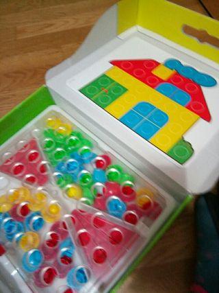 juguete asociar colores