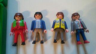 playmobil. Cuatro señores