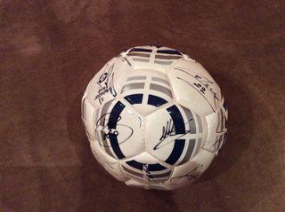 Balón firmado RCD