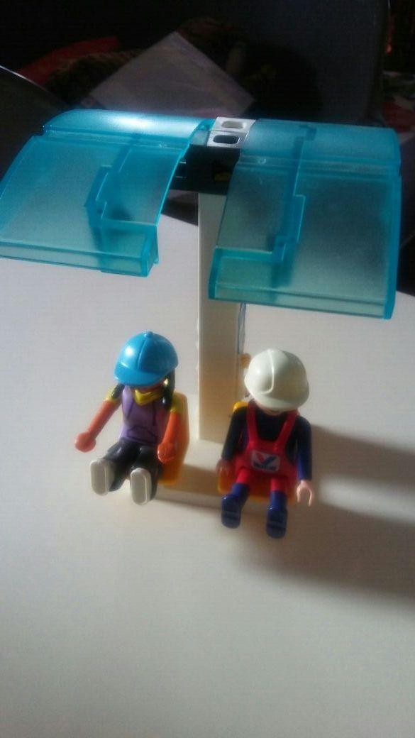playmobil. parada de bus