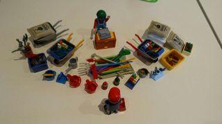 playmobil. tienda tipo ferreteria