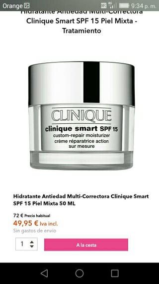 Clinique smart crema