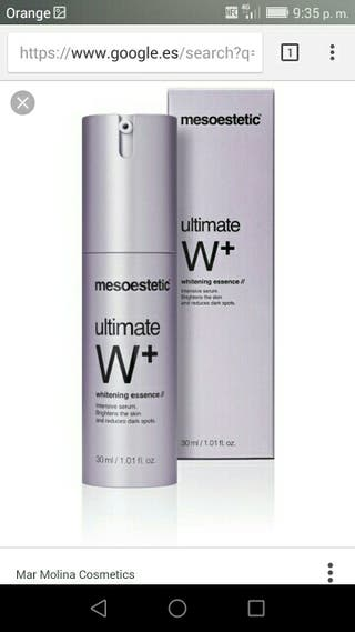 serum mesoestetic white