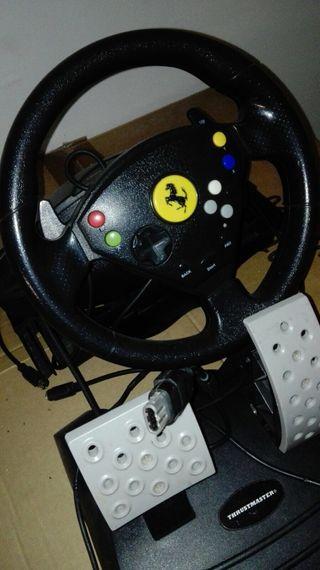 Volante xbox 360 del año 2000