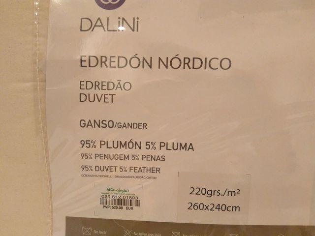 Edredón nórdico frío extremo de segunda mano por 260 € en Allariz