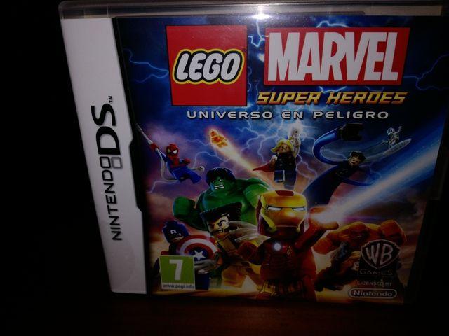 juego Lego Marvel nintendo ds