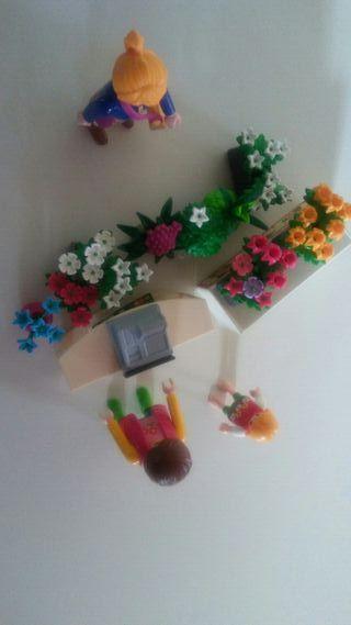 playmobil. floristeria