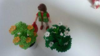 playmobil. jardinero