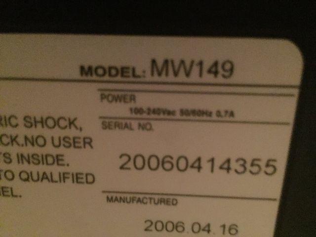 Tv AIRIS MW 149
