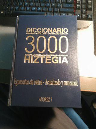 Diccionario Hiztegia 3000