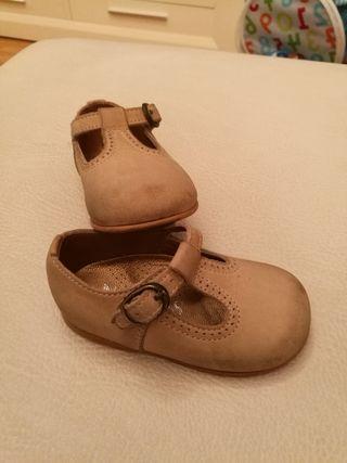 zapato bebe talla 20
