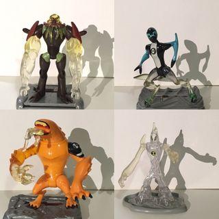 Ben10 figuras originales