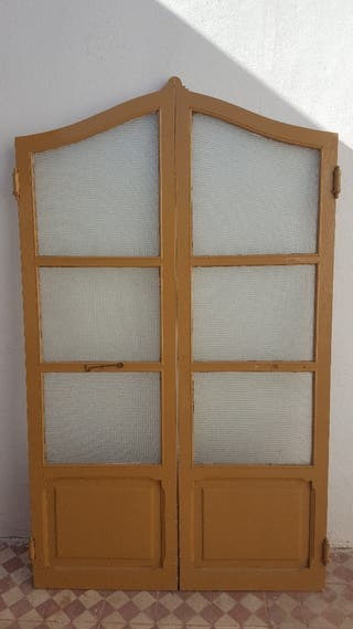 Puertas vaiv n antiguas madera maciza de segunda mano por - Puertas antiguas segunda mano ...