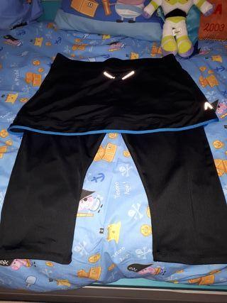 falda pantalon padel