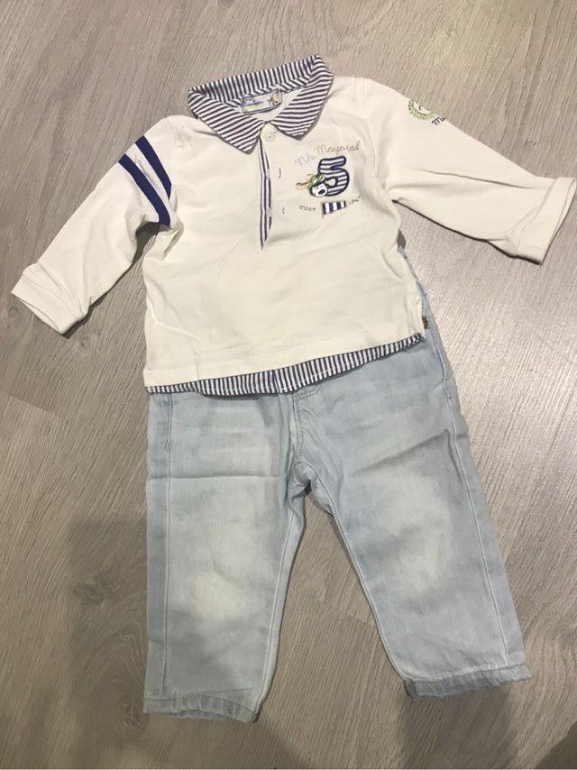 Pantal n camiseta polo bebe abrigo 3 6 meses de segunda - Ropa segunda mano cordoba ...