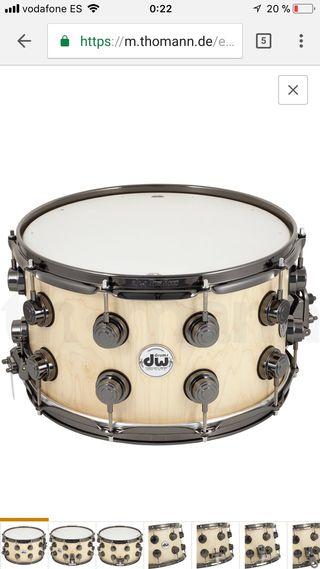 Caja de batería, batería, Instrumento músical, DW