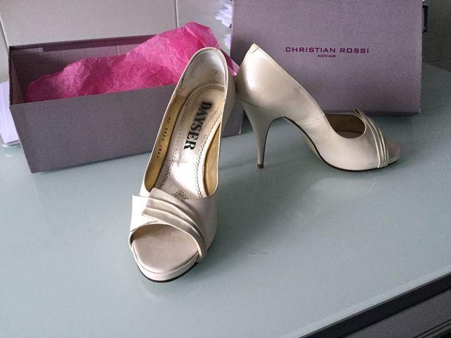 zapatos de novia de segunda mano por 35 € en oviedo en wallapop