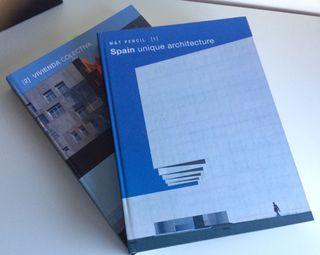 2 libros y 8 revistas de arquitectura