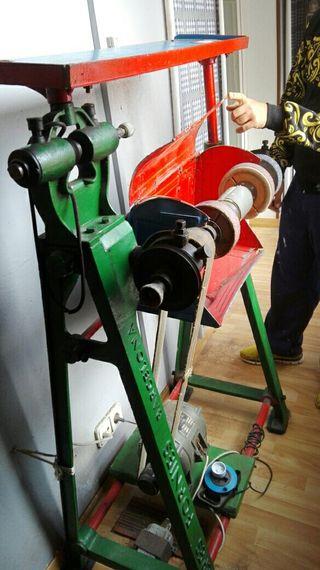 maquina de Zapatero para pulir