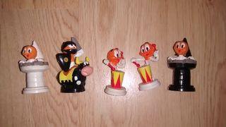 figuras ajedrez chupa chups muñecos colección