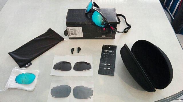 Gafas Oakley Racing Hacker + lentes recambio