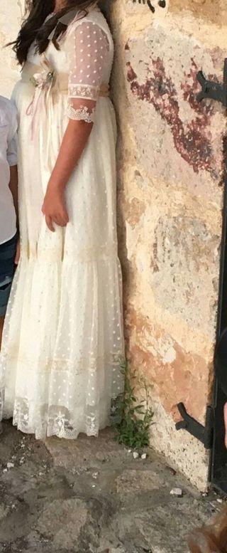 Vestidos de comunion margarita freire 2019