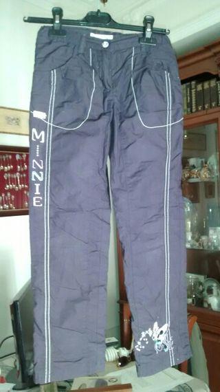 Pantalón Disney nuevo fino,cinturón y gorro