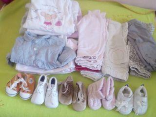 ropa neña y zapatos todo 10€