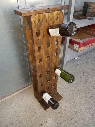 botellero de vino grande 18 botellas