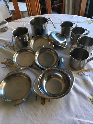 Recipientes cocina acero inox