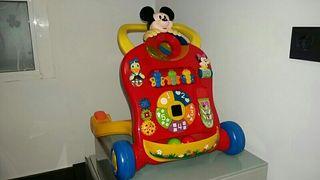 andador musical Mickey
