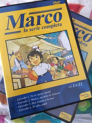 Marco serie dvd nuevos